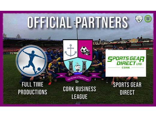Cork Business League Announces Partnership with SportGear Direct & Full Time Productions