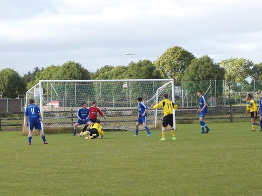 Donal Burke made it 3-0 with a superb diving header