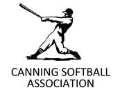 Canning Softball Association - Logo