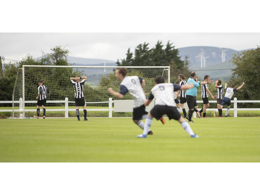 Tuohy Cup Final 2019 - Glenhest Rovers celebrate the opening goal