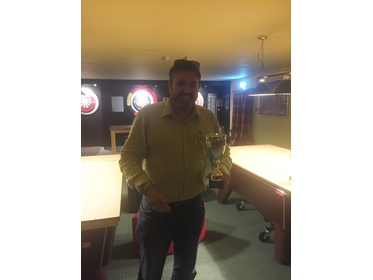 Alisdair Ward Memorial Singles Runner-Up 2016 Andy Herridge