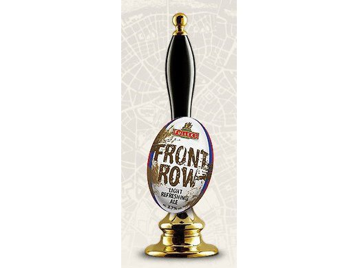 FRONT ROW RUGBY ALE