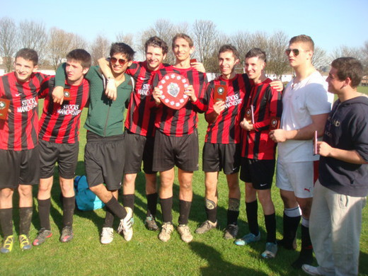 2011-12 Republic of Mancunia 2nd (7aside Winners)