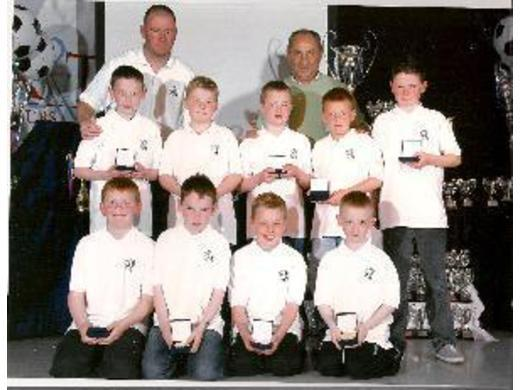 Presentation of trophies at Haggerston Castle May 2010