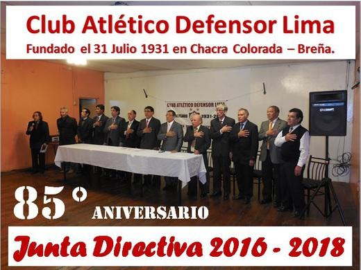 Nueva Junta Directiva.