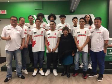 Team Crossover Canada with WFG's Agnes Pasaporte Miranda