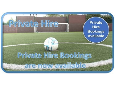 Private Hire at Sandon Soccer