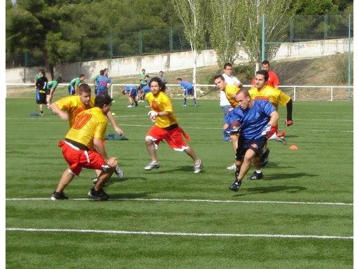 Primera jornada de la Liga Madrileña de Flag