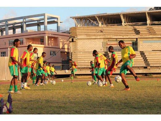 Grenada National Men's Senior Team begins preparation for WIFA Tournament