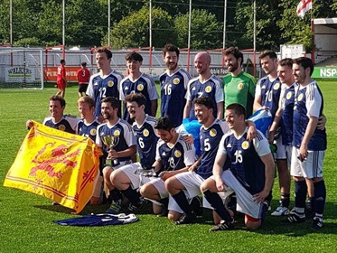 London Scottish , the 2017/18 Cup winners