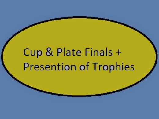 PRESENTATION of TROPHIES & CUP FINALS at Cubbington Club 2nd October