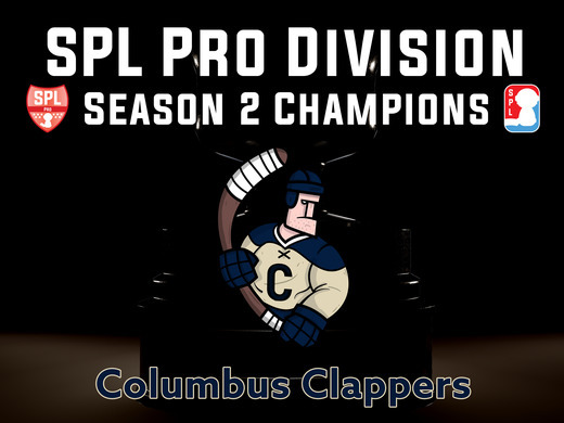 Columbus Clappers Are Your SPL Season 2 Champions.