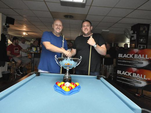 Steve Wall & Si Fitzsimmons - Swinton Pool Hall Singles League Finalists 2017