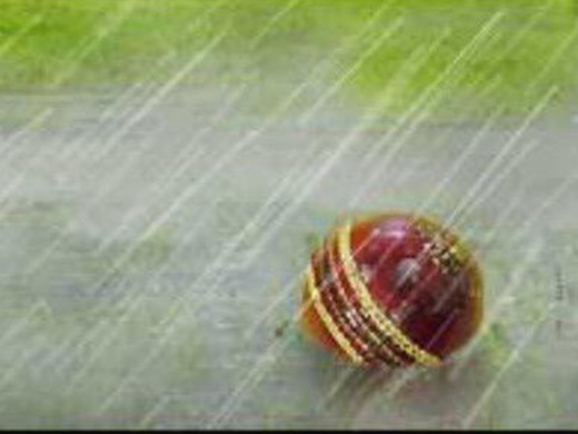 Match cancelled due to rain