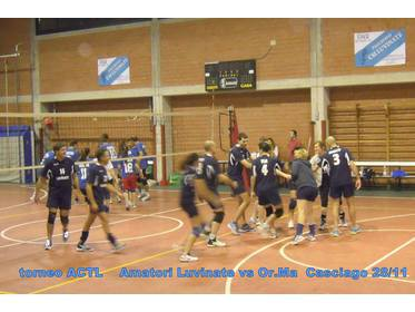 2a giornata : OR.MA vs Luvinate