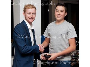 TCC Junior Noah Priestley - YCCC U13 Player of the Year.