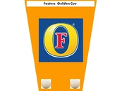 Fosters Burnley & District Golden Cue - Logo
