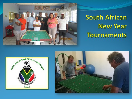 NEW YEAR's TOURNAMENTS IN SOUTH AFRICA