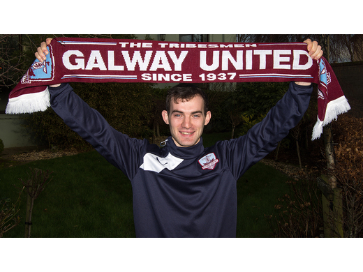 Andrew Peters signs for Galway United