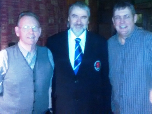 Colin Whitelaw and Billiards 2 Finalists Dave Sneddon and Paul Whelan