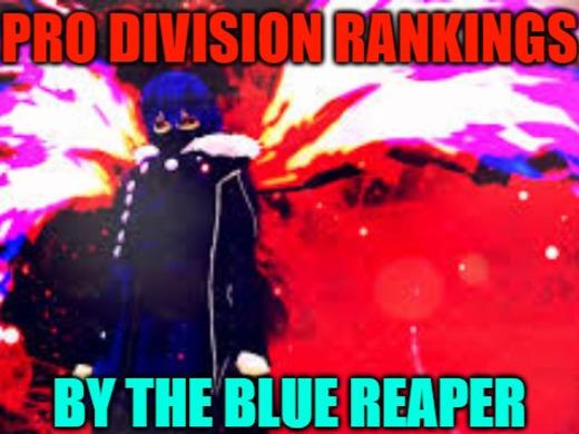Pro Division Pre-Season Rankings - Season 3
