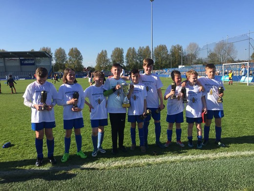 Under 9s & 10s Cup Finals Go Down to the Wire