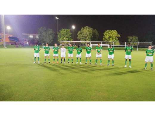 Parkhouse and Fc Kenya observed a minute of silence in honour of the late Mohamed Rashid