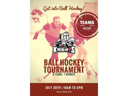 Ball Hockey Tournament - Enter your team!