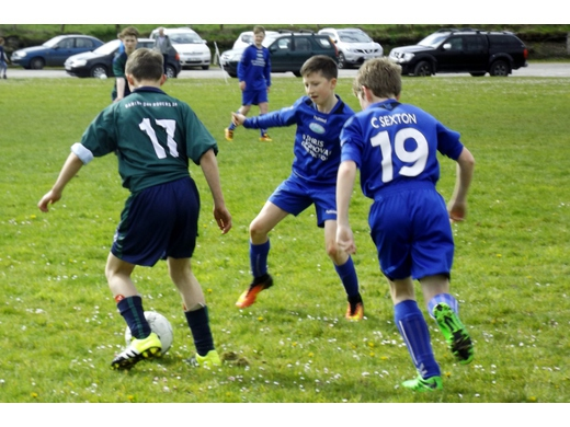 Bay Rovers v Riverside Athletic U13 Prem League - Apr 2017