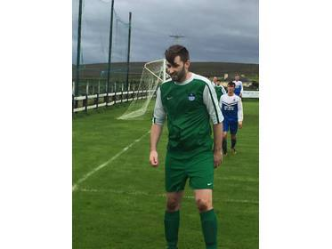 Brian McHale scored both of Bangor Hibs goals in their win over Partry Athletic