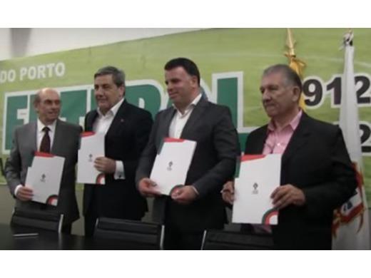 Protocolo com a Federação Portuguesa de Futebol foi assinado