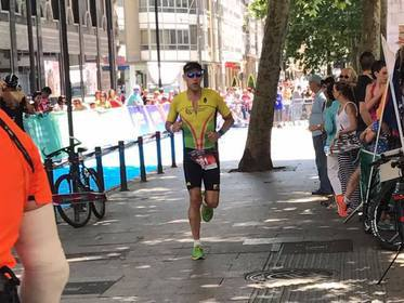 Lee - Vitoria Gasteiz Ironman July 2017
