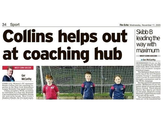 Cork City Women's Manager Visits WCSL