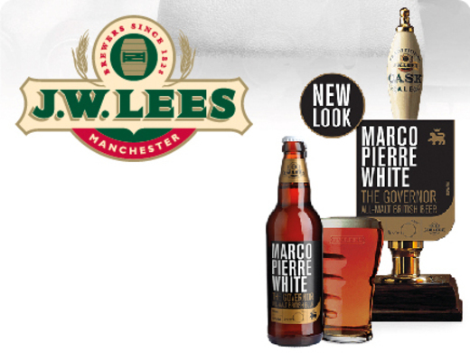 All-malt beer created by Marco Pierre White and JW Lees.