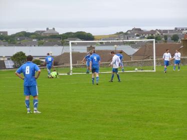 South Ronaldsay score third, and decisive, goal