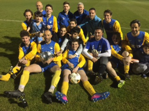 2016-17 Maccabi Blue - Tony Cohen Cup Winners