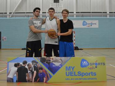 3v3 Basketball Tournament Winners