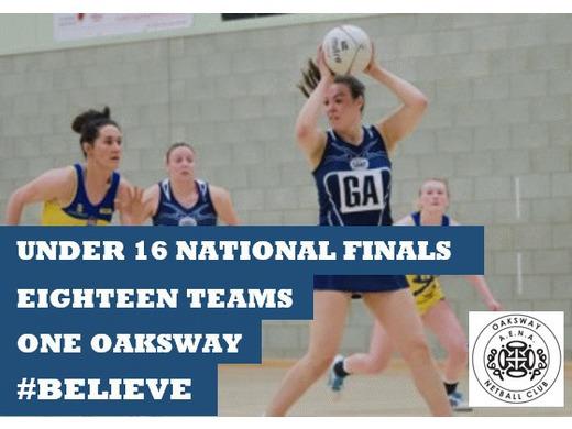 National Clubs U16 Finals #Believe