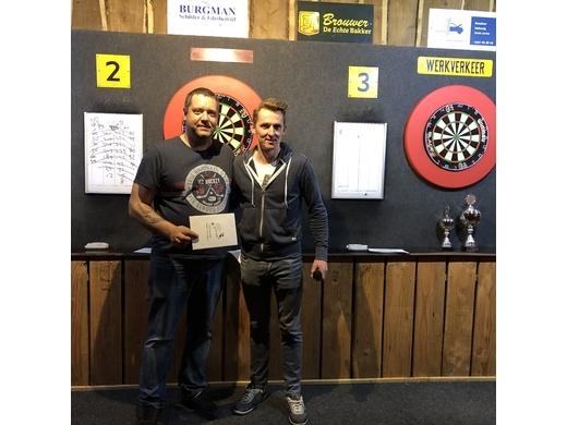 Winnaar verliezersronde: Daniel Brouwer