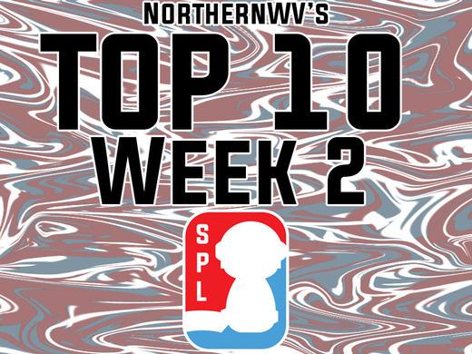 northernWV's Top 10 - Week 2