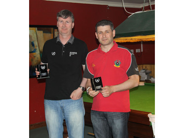 Captains Cup Runner Up - Paul Convery - Ian Butler