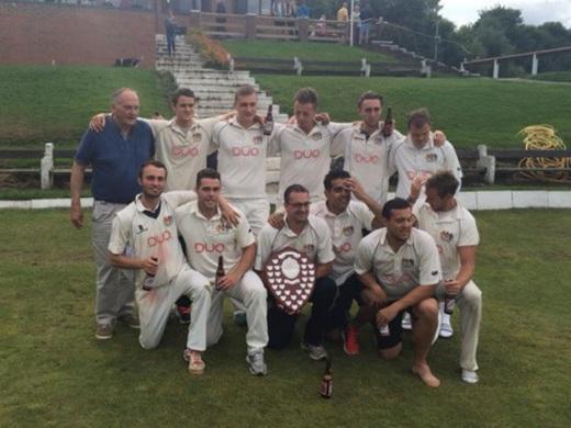 Prestwich CC 2015 1st XI Champions