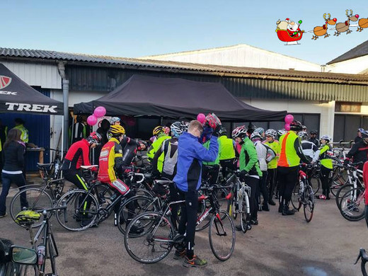 Climb on Bikes - Winter Charity Road Ride : December 2015