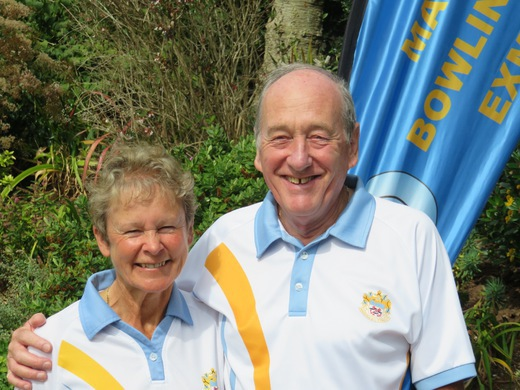 Liz Smerdon & Mike Gorman - Ashby Crane Open Singles finalists