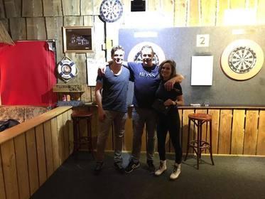 Winnaars Danny en zijn vrouw Karin