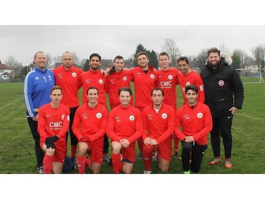 Hendon United - Prem Div Champions 2019-20