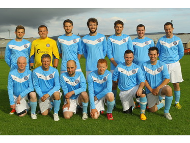 Stromness Burgh 2013 line-up for Lows Thornley Binders Cup