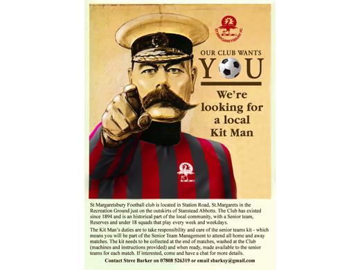 Kit Man poster
