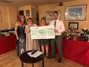 £6800 raised for Wiltshire Sight by players in the 2016~2017 season