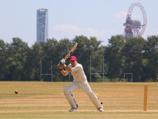 Tom Porter of The Camel scoring 49 v Royal Sovereign